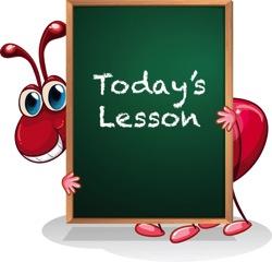 Ant Lesson